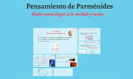 Pensamiento de Parménides