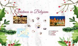 Christmas in Belgic