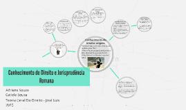 Copy of Conhecimento do Direito e Jurisprudência Romana