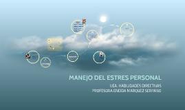 MANEJO DEL ESTRES PERSONAL