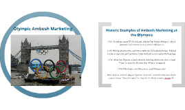 London 2012 Olympic Games Ambush Marketing