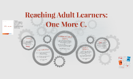 Reaching Adult Learners: One More C.