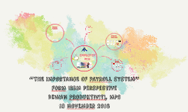 PAYROLL OPEN DAY - FOCUS GROUP