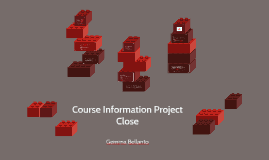 Copy of Course Information Project Close