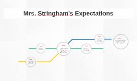 Mrs. Stringham's Expectations