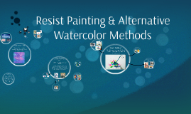 Painting Water Resist Methods