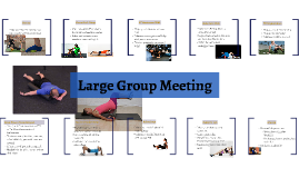 Large Group Meeting 5/11/16
