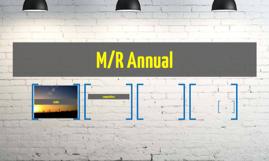 M/R Annual