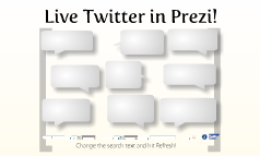 Live Twitter in Prezi!