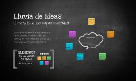 Plantilla Mapas Mentales de Daniel E Diaz R