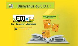 Copy of Présentation CDI Parents 6e
