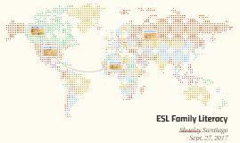 ESL Family Literacy