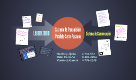 Sistema de Transmicion Paralelo-serie-Paralelo