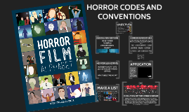 Horror Codes & Conventions