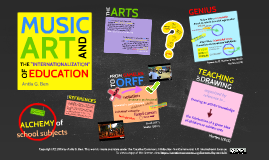 "Music, Art, and the ""Internationalization"" of Education"