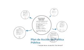 Plan de Acción de Política Pública