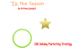 2016 Holiday Marketing Strategies