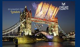 London Orientation 2017