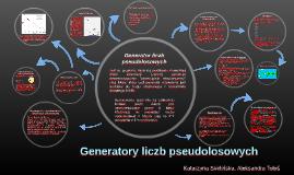 Copy of Generatory liczb pseudolosowych