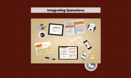 Integrating Quotations Workshop