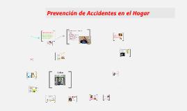 Prevención de Accidentes en el hogar.