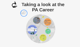 Taking a look at the PA Career