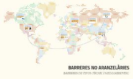 BARRERES NO ARANZELARIES