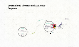 Journalistic Themes and Audience Impacts