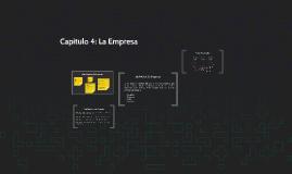 Capítulo 4: La Empresa