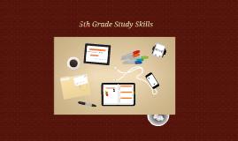 5th Grade Study Skills