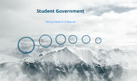 Student Government: What's now and what's to come