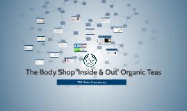 The Body Shop 'Inside & Out' Organic Teas