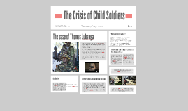 The Crisis of Child Soldiers