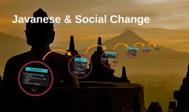 Javanese & Social Change