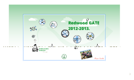Redwood GATE 2012- 2013.