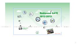 Redwood GATE 2012- 2013.