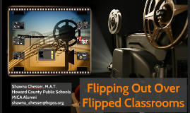 Flipping out over Flipped Classrooms