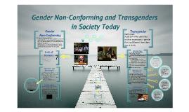 Transgender and Gender Non-Conforming Oppression