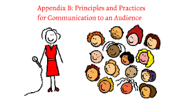 Appendix B: Principles and Practices for Communication to an