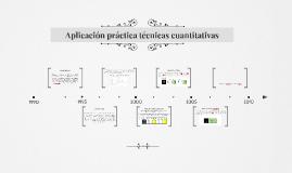 Aplicación práctica técnicas cuantitativas