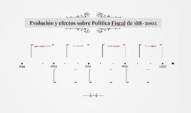 Evolución y efectos sobre Política Físcal de 188-2002