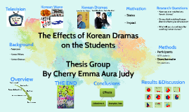 Korean drama thesis