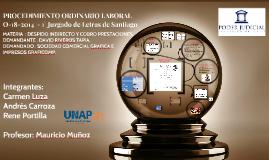Copy of PROCEDIMIENTO ORDINARIO LABORAL