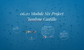 Copy of 06.05 Module Six Project