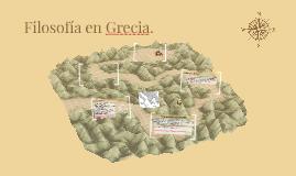 Filosofía en Grecia.
