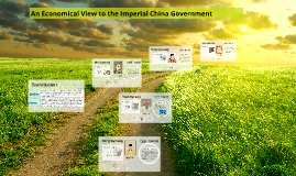 Imperial China Government - An Economy Aspect