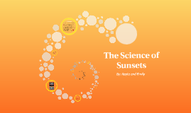 The Science of Sunsets