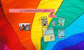 LA COMMUNAUTÉ LGBTI+