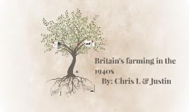 Britain's farming in the 1940s