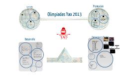 Olimpiadas Yao